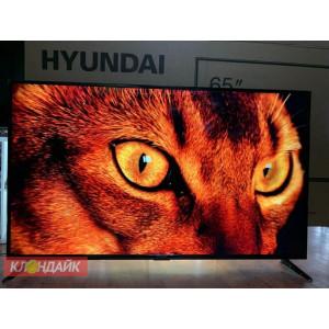 HYUNDAI H-LED65FU7003 огромная диагональ, 4K Ultra HD, HDR 10, голосовое управление