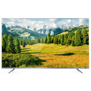 Телевизор TCL L65P6US 4K Ultra HD сверхтонкий серебристый в Дубровке фото